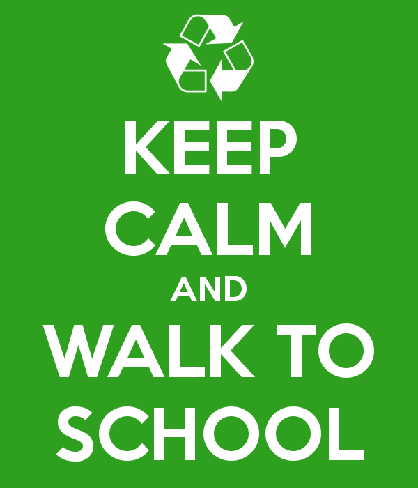 keep calm and walk to school 20